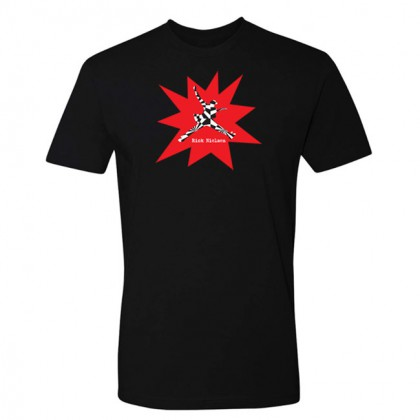 Abstract - Mens Black T-shirt