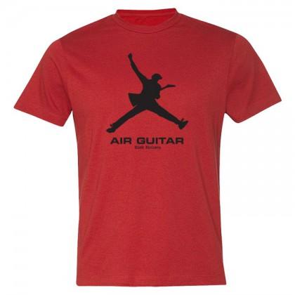 Air Guitar - Mens Red T-shirt