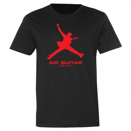 Air Guitar - Mens Black T-shirt