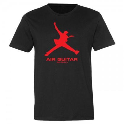 Air Guitar - Mens Black T-shirt